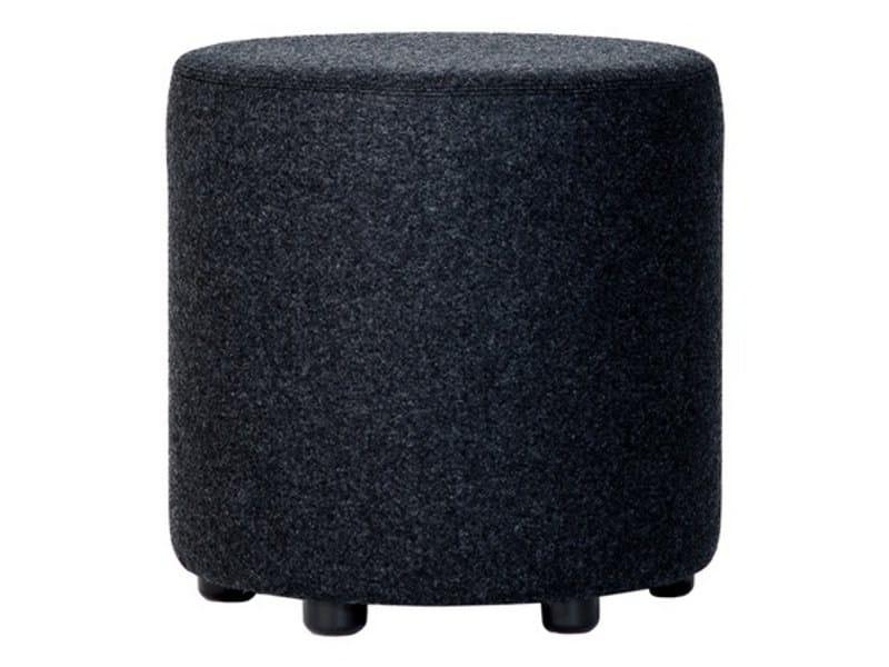 Upholstered fabric pouf BONGO - Johanson Design