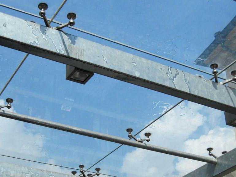 Point-fixed glass facade Point-fixed glass facade - WOLFSGRUBER