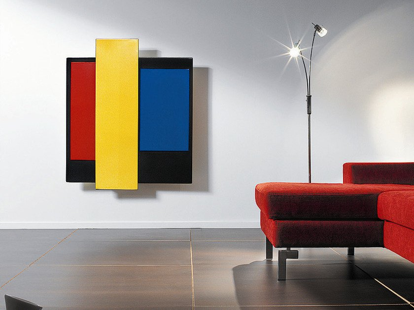 Wall-mounted vent free fireplace CHROMIFOCUS - Focus