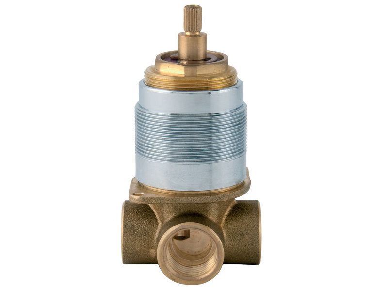 3 ways brass diverter 3 ways diverter - Bronces Mestre