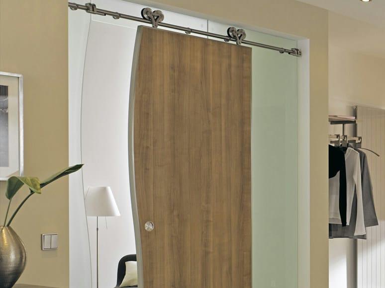 Sliding door without frame DUPLEX by WOLFSGRUBER