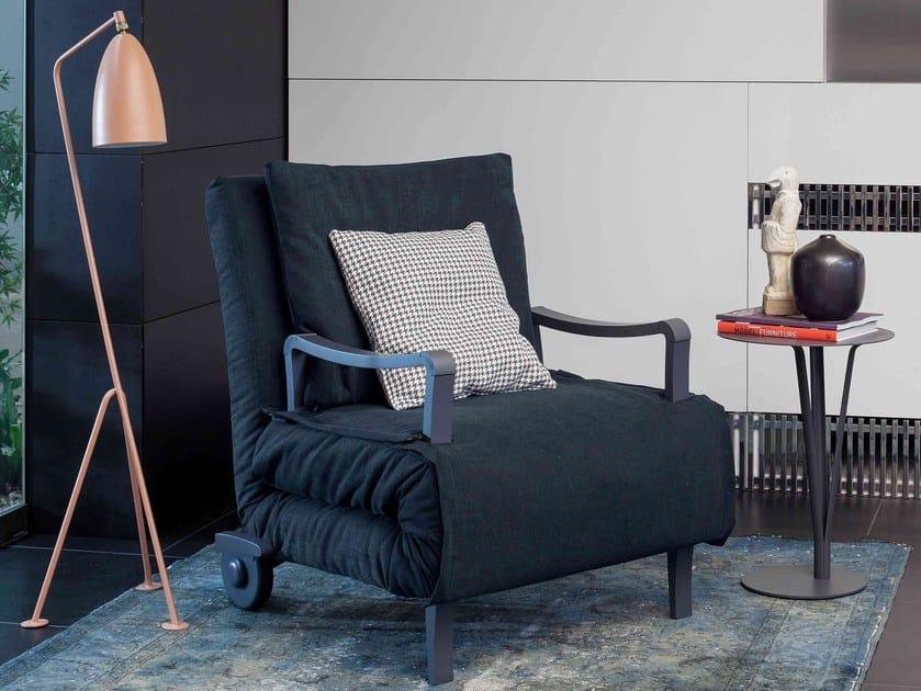 Upholstered armchair bed NUOVO ARTURO - Bonaldo