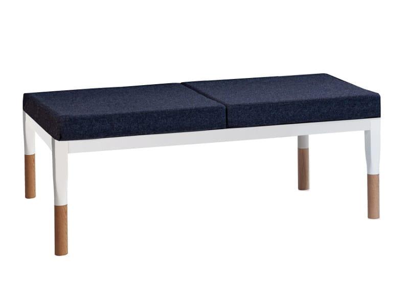 Modular wooden bench REFORM | Bench - Johanson Design