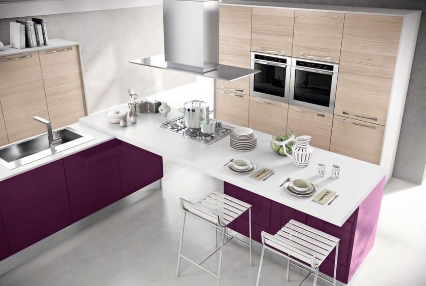 Cucina componibile in legno cucina con maniglie collezione - Maniglie cucina prezzi ...