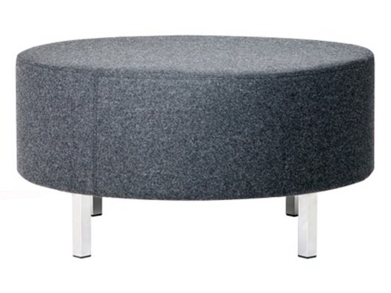 Upholstered fabric pouf O-80 by Johanson Design