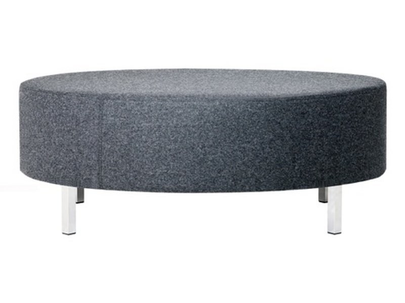 Upholstered fabric pouf O-120 - Johanson Design