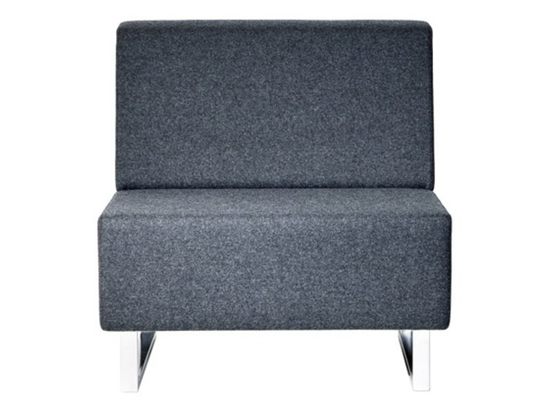 Upholstered modular fabric armchair U-SIT 71 | Armchair - Johanson Design