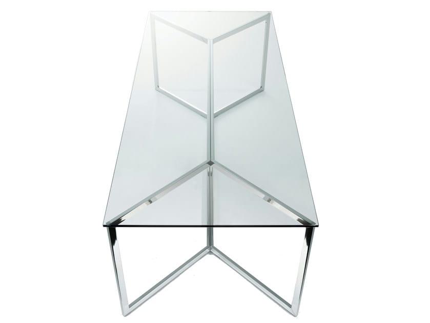 Crystal table CARLO MAGNO - Gallotti&Radice