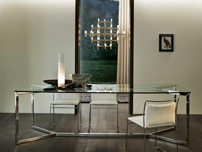 Tavolo in cristallo carlo magno gallotti radice - Tavolo con radice ...