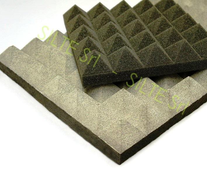 rivestimento fonoisolante e fonoassorbente pannello fonoisolante silte. Black Bedroom Furniture Sets. Home Design Ideas