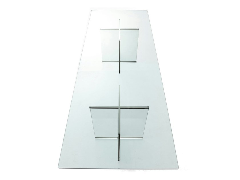 Crystal table EROS | Rectangular table by Gallotti&Radice