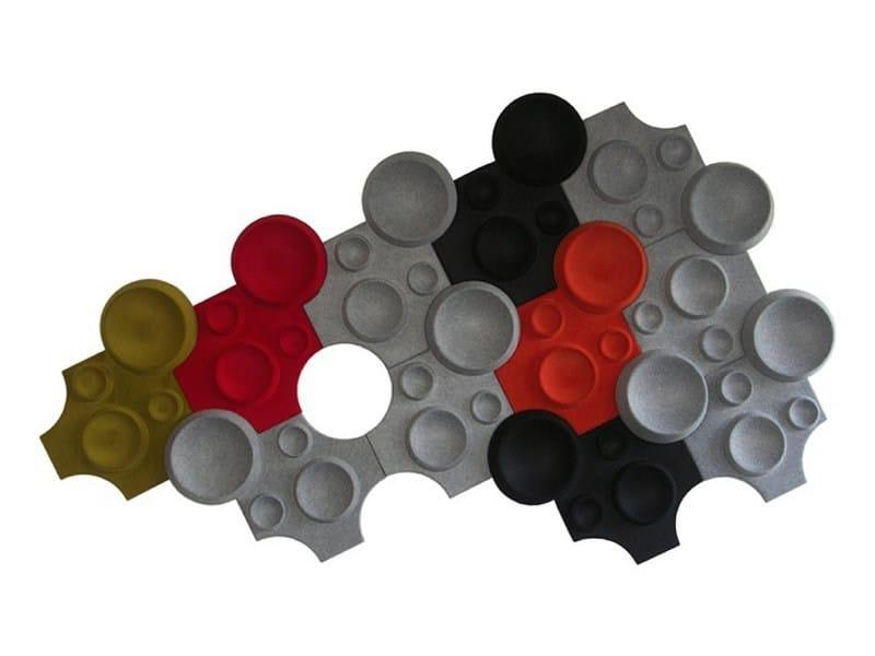 Pannello decorativo acustico in poliestere moon johanson - Pannello decorativo design ...
