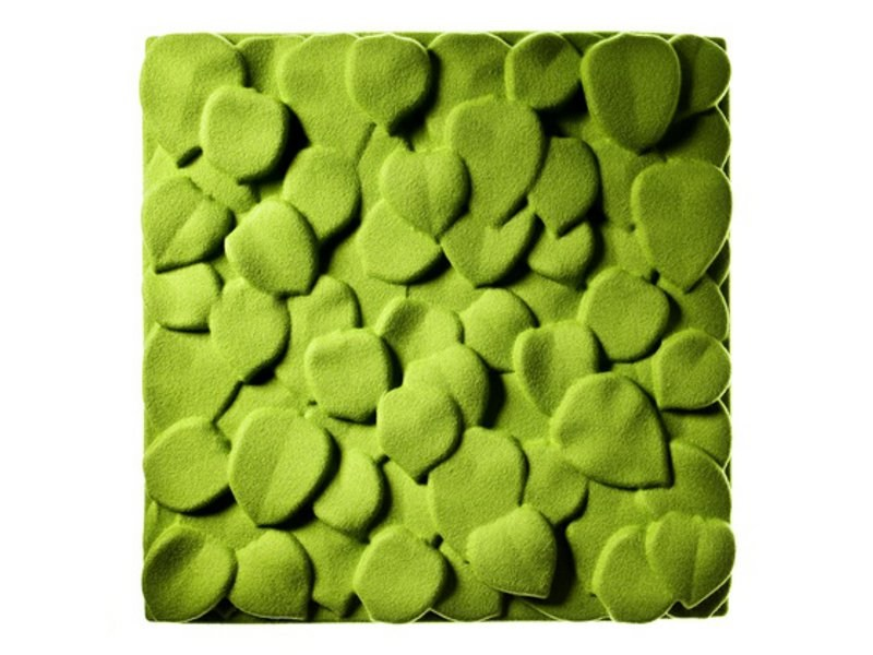 Felt decorative acoustical panels LEAVES - Johanson Design