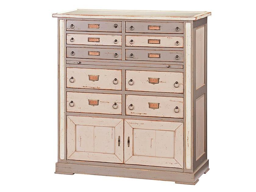 chiffonnier en cerisier meubles de m tiers meuble d archiviste collection nouveaux classiques. Black Bedroom Furniture Sets. Home Design Ideas