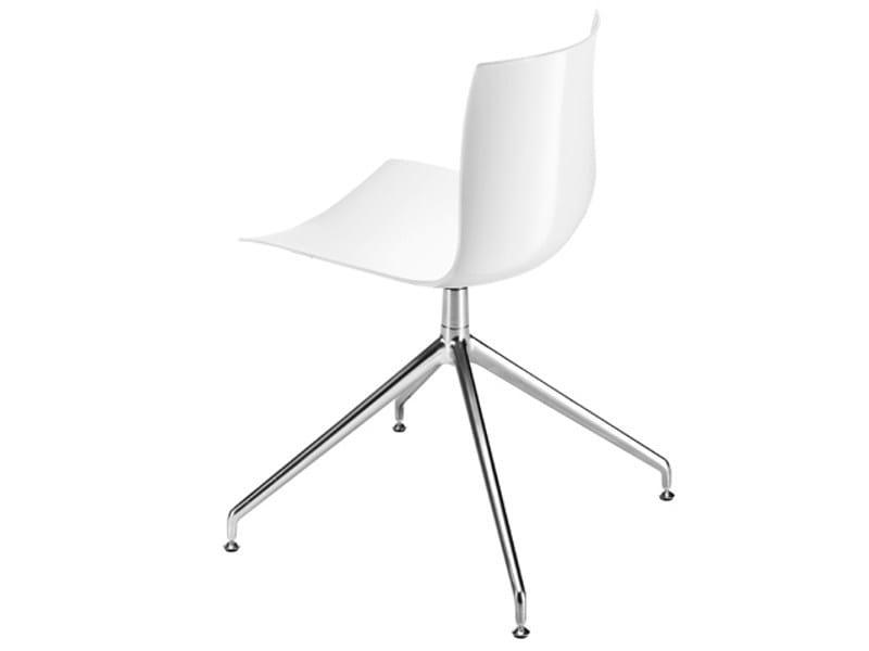 catifa 46 trestle based chair by arper design lievore. Black Bedroom Furniture Sets. Home Design Ideas