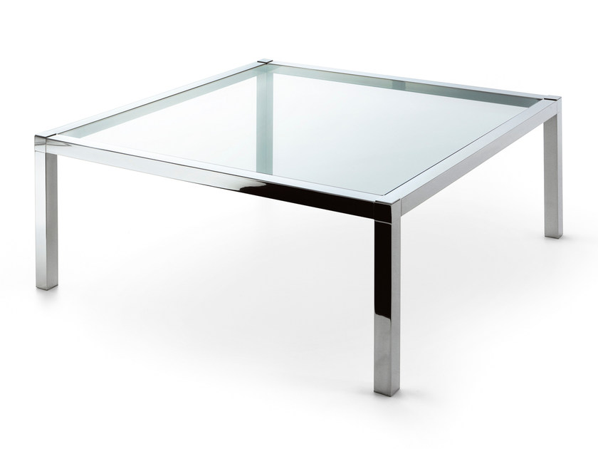 Square crystal coffee table GRANT MAJOR - Gallotti&Radice