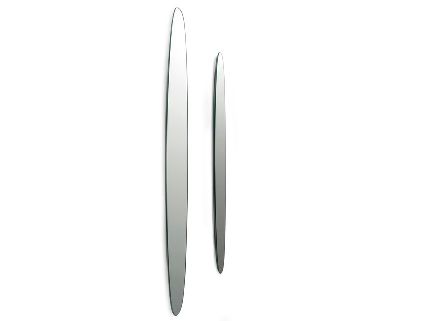 Oval wall-mounted mirror KEPLERO by Gallotti&Radice