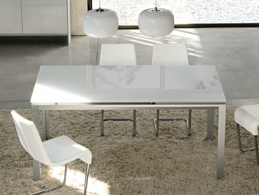 Extending rectangular table CHAT - Bonaldo