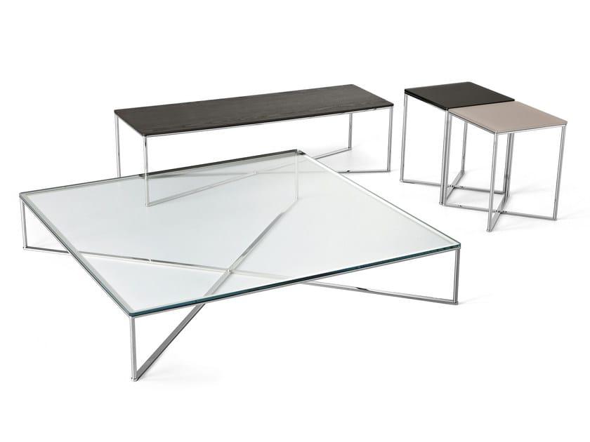 Low rectangular coffee table MAXIM - Gallotti&Radice