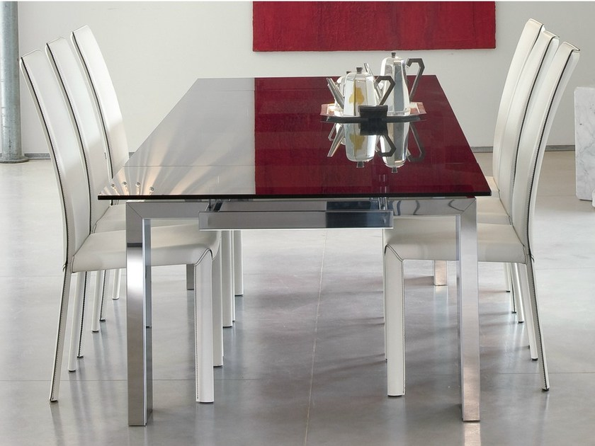 Extending rectangular table TOM - Bonaldo