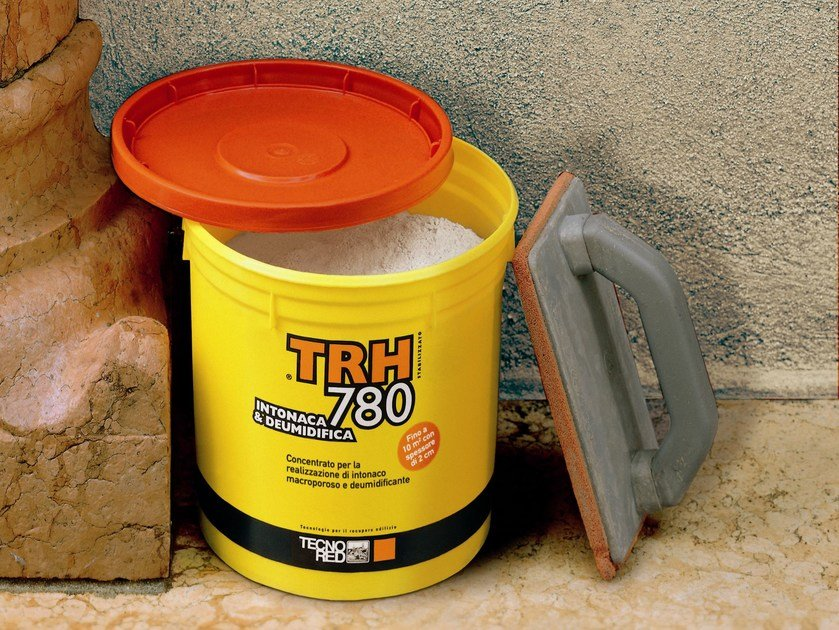 Active substance for plasterwork macroporous Intonaca & Deumidifica® - TECNORED