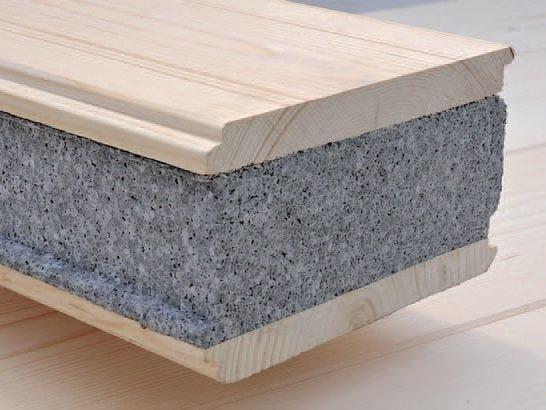 Graphite-enhanced EPS thermal insulation panel ISPER® GRAFITE - Grandi Legnami