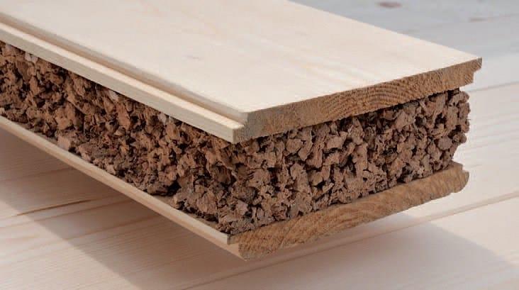 Pannello composito in lastre di legno e sughero eco isper for Pannelli sughero brico
