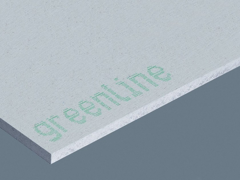 Trennwand aus Gipskarton GREENLINE | Naturdämmstoff für ökologisches Bauen aus Gipsfaser by Fermacell