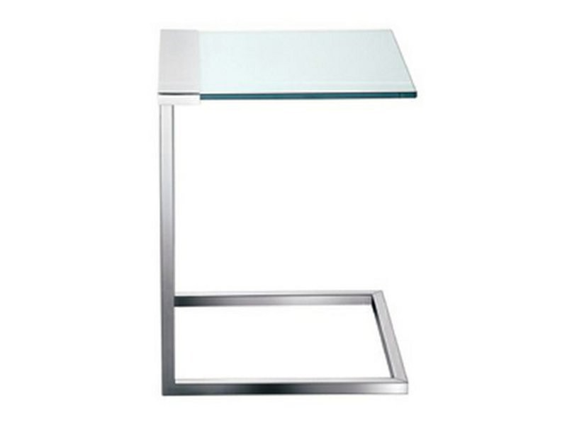 Low crystal coffee table SIR T32 | Square coffee table - Gallotti&Radice