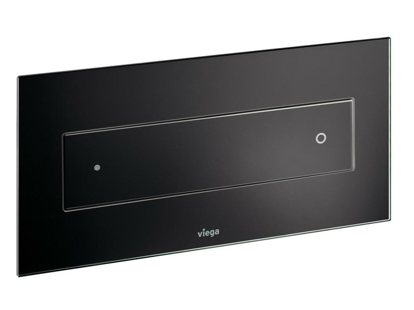 Glass flush plate VISIGN FOR STYLE 12 by Viega Italia