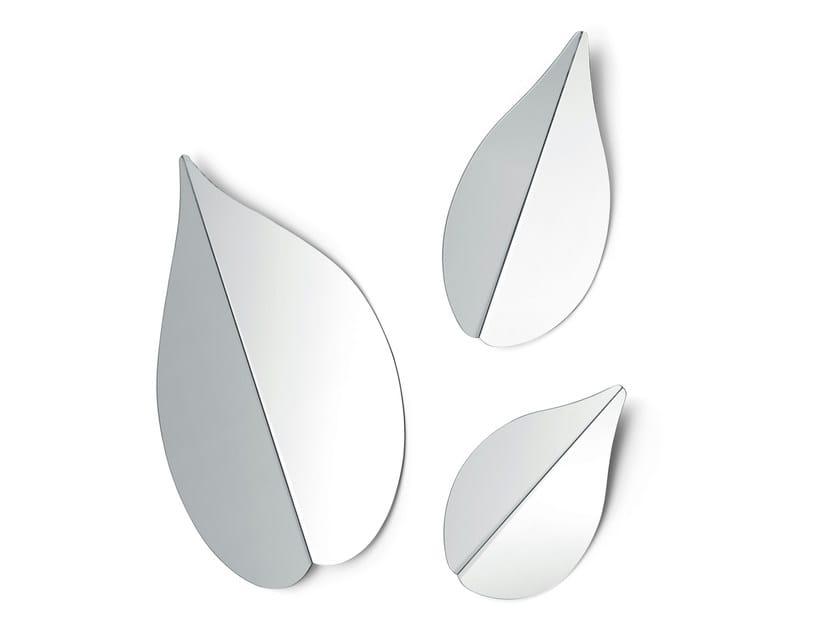 Wall-mounted mirror SPRING by Gallotti&Radice