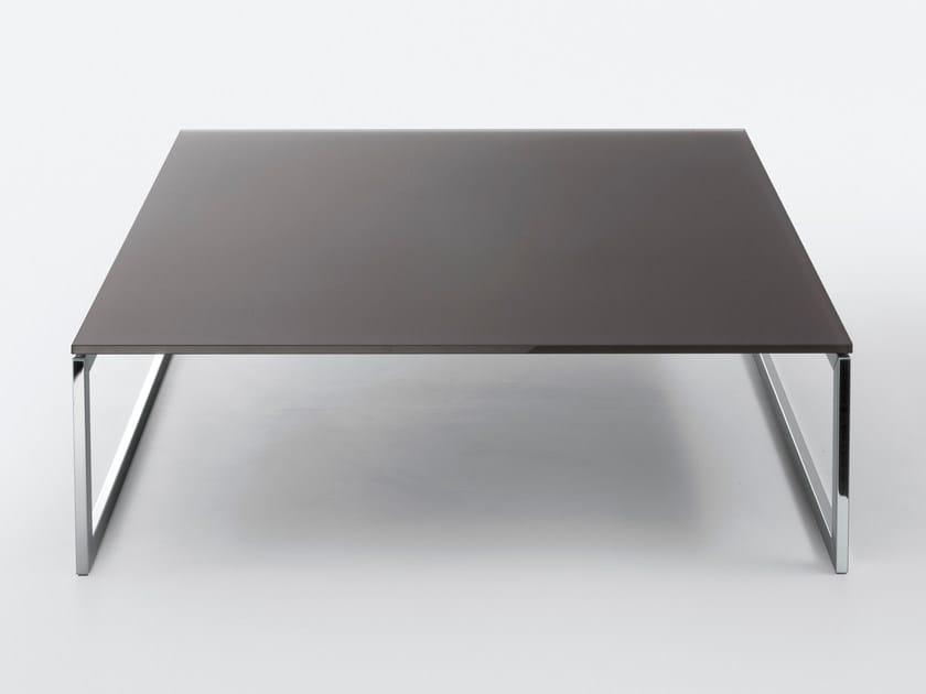 Rectangular crystal coffee table SQUARE - Gallotti&Radice