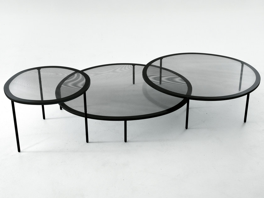 Low round coffee table TAFFY - Gallotti&Radice