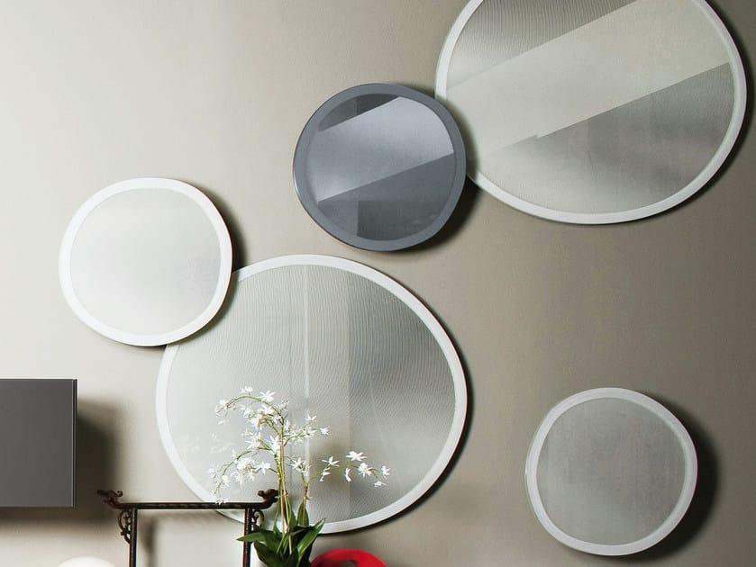 Round mirror TAFFY MIRROR by Gallotti&Radice