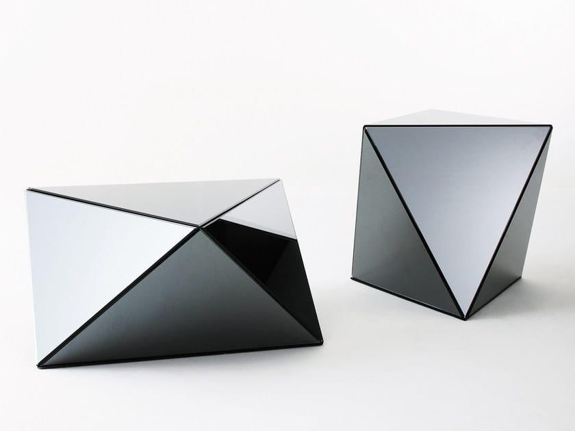 Low crystal coffee table YANIN by Gallotti&Radice