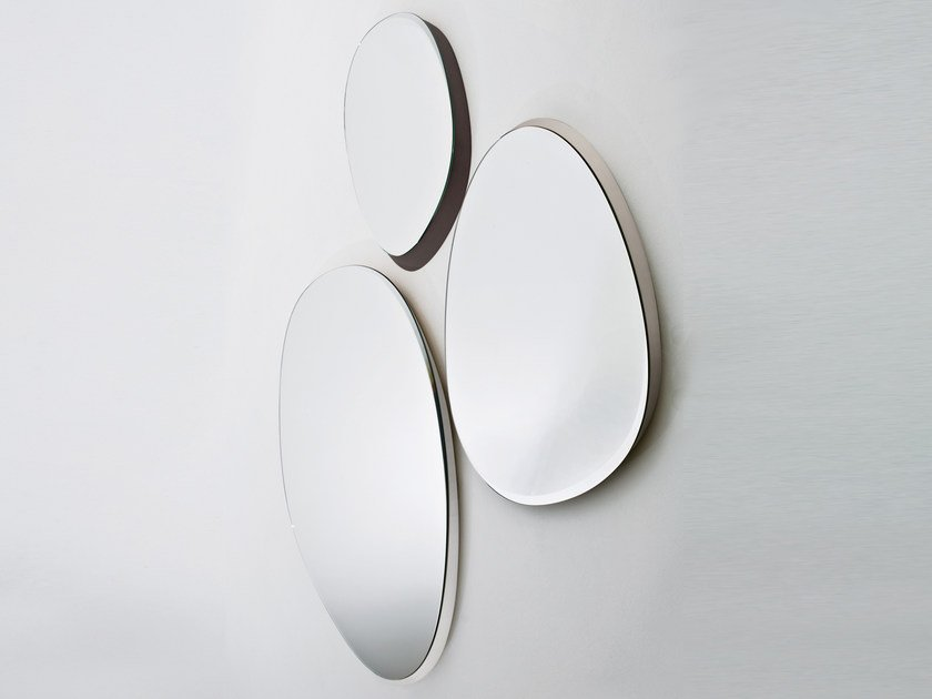 Oval wall-mounted mirror ZEISS MIRROR - Gallotti&Radice