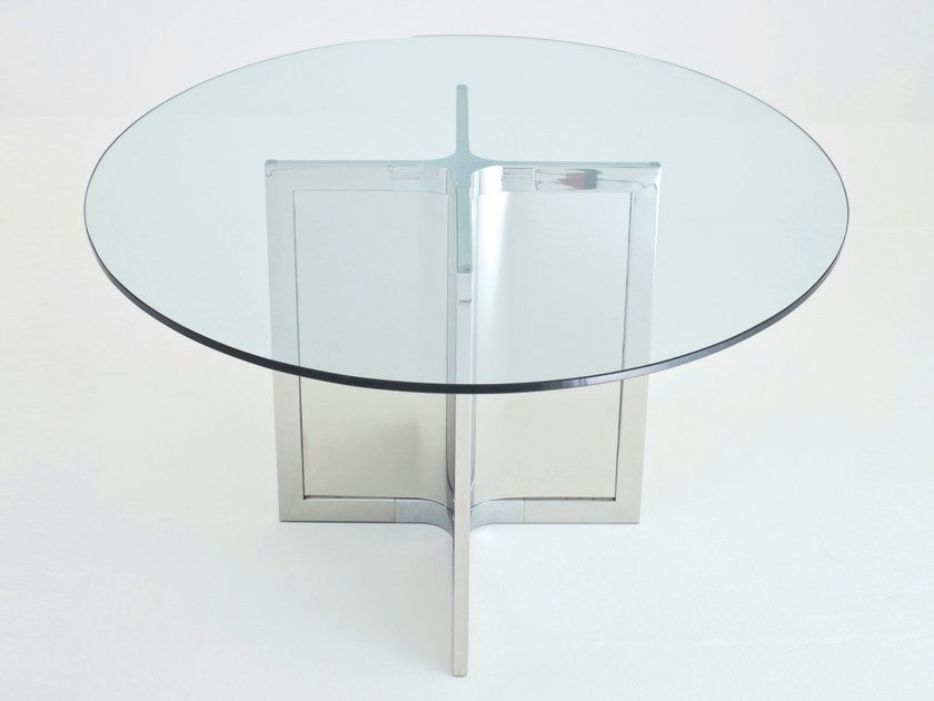 Round crystal table RAJ 4 - Gallotti&Radice