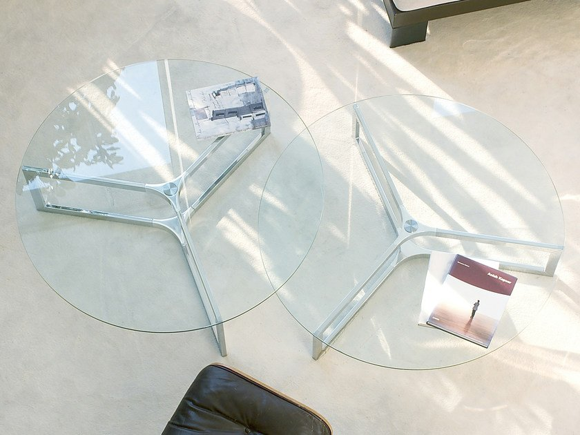 Low round coffee table RAJ 1 - Gallotti&Radice