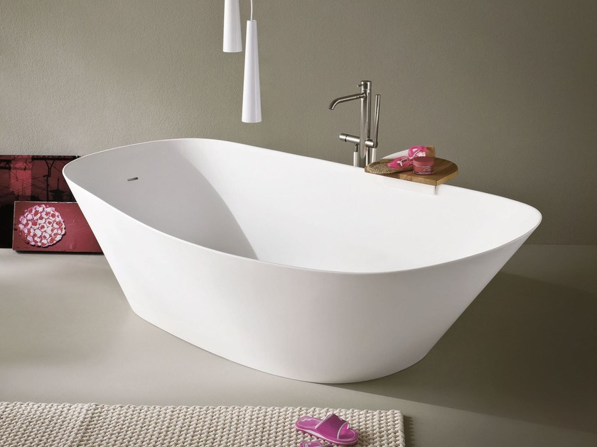 FONTE Freestanding bathtub by Rexa Design design Monica ...