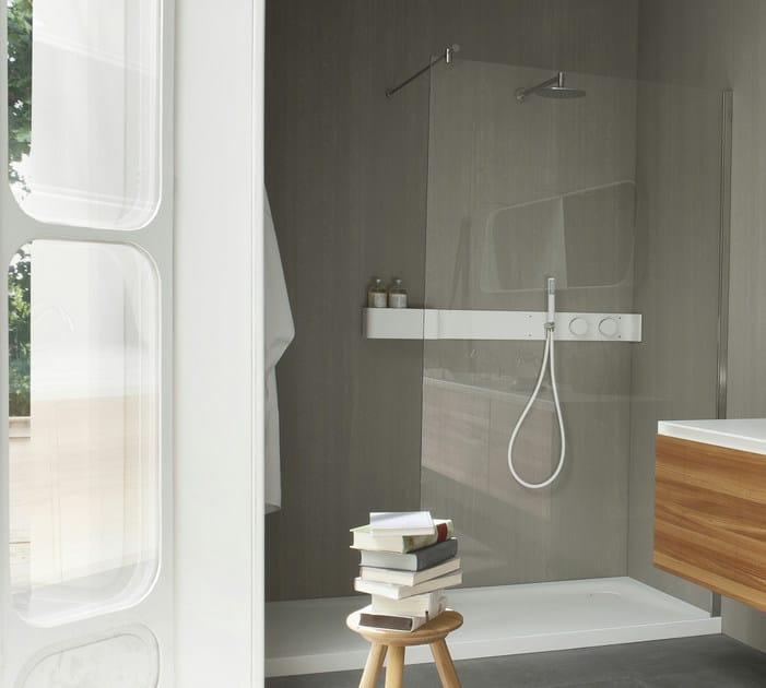 Piatto doccia rettangolare in corian design ergo nomic for Design piatto