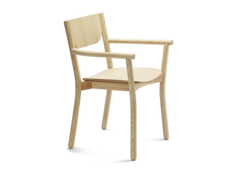 Chair NICO | Chair with armrests by Zilio A&C