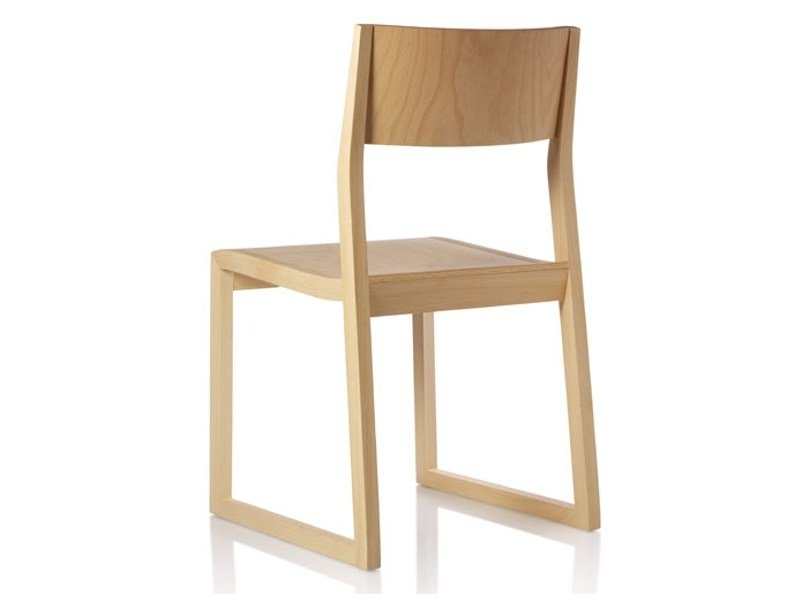 Beech chair SCIZA | Chair by Zilio A&C