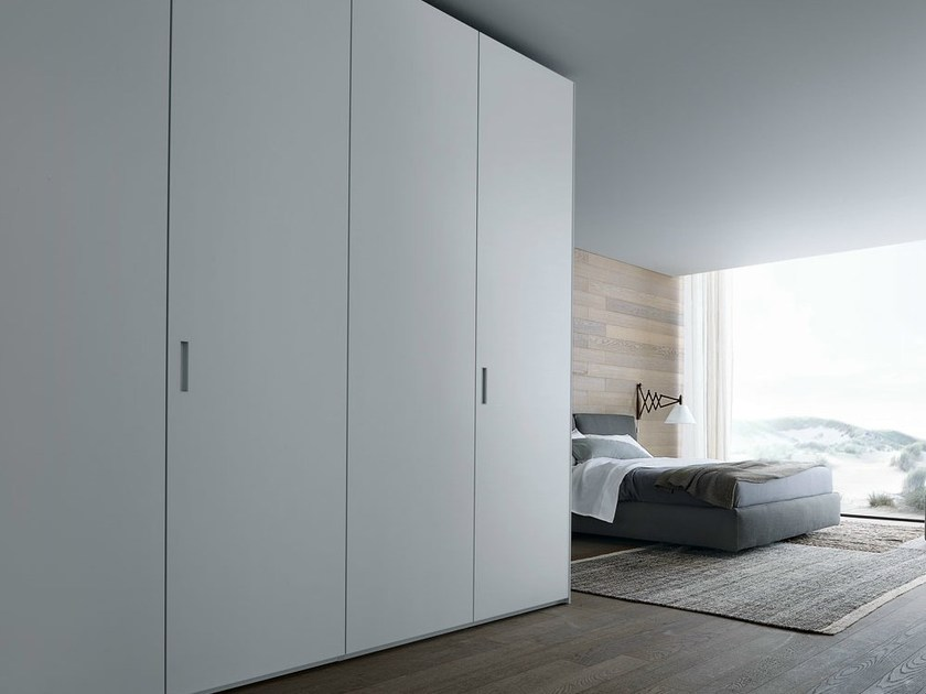 Lacquered oak wardrobe NEW ENTRY | Wardrobe by poliform