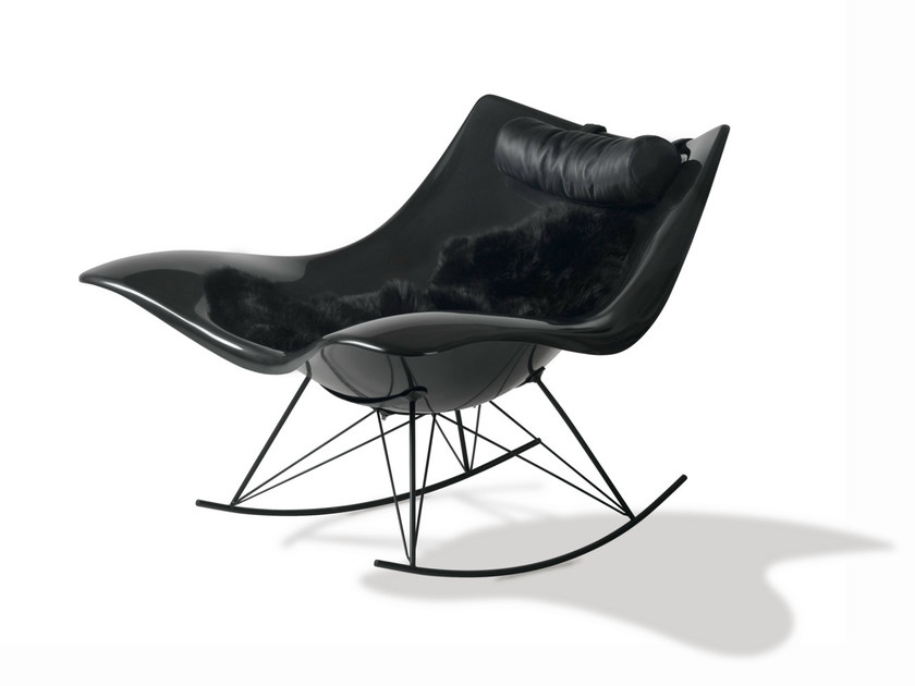 Rocking armchair STINGRAY | Rocking armchair - FREDERICIA FURNITURE