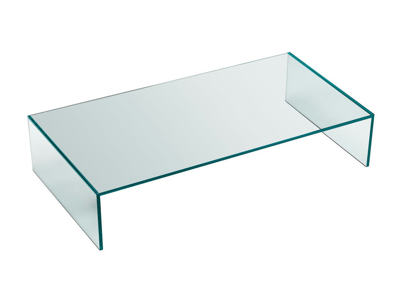 Glass coffee table EDEN - T.D. Tonelli Design