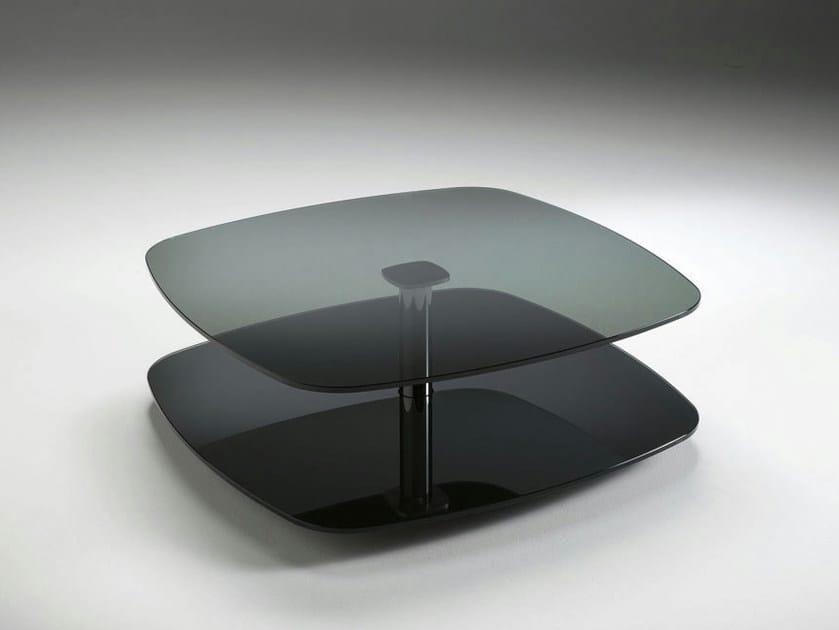 Glass coffee table LESSICO - T.D. Tonelli Design
