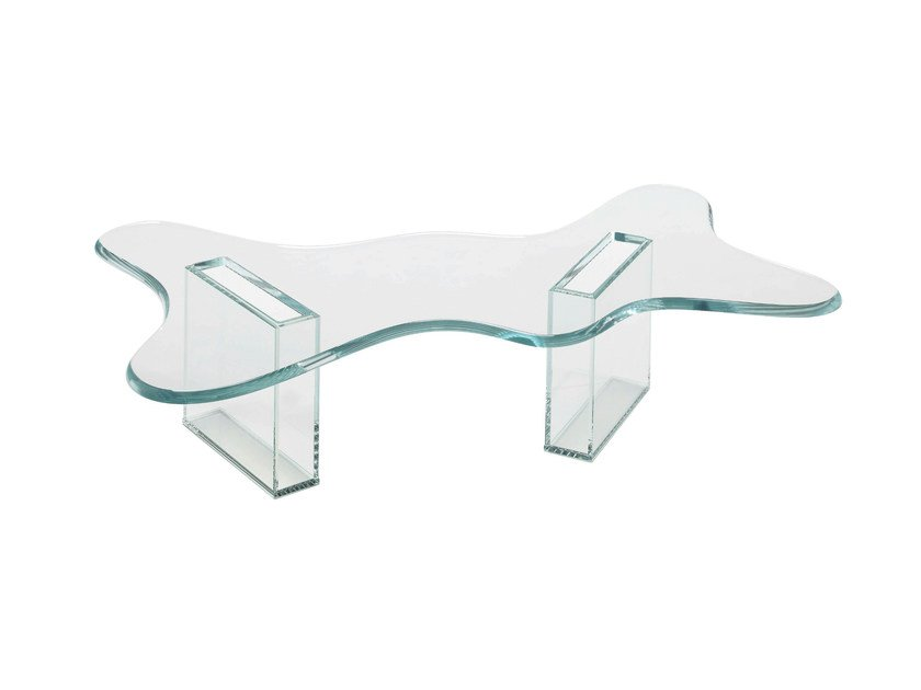 Glass coffee table SPLASH by Tonelli Design