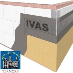 Exterior insulation system TermoK8® CLASSICO 33 - Ivas Industria Vernici - GRUPPO IVAS