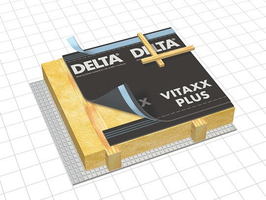 Breathable protective fabric for roof space DELTA® - VITAXX by DÖRKEN ITALIA