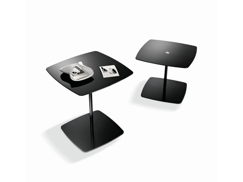 Glass coffee table ANEMONE - T.D. Tonelli Design
